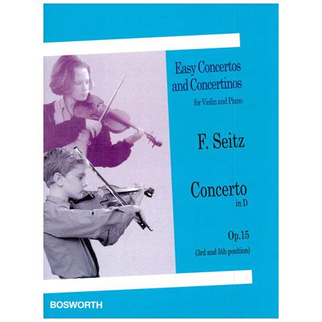 Seitz, F.: Violinkonzert Op. 15 D-Dur
