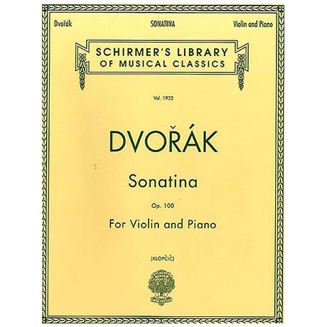 Dvořák, A.: Sonatina Op. 100