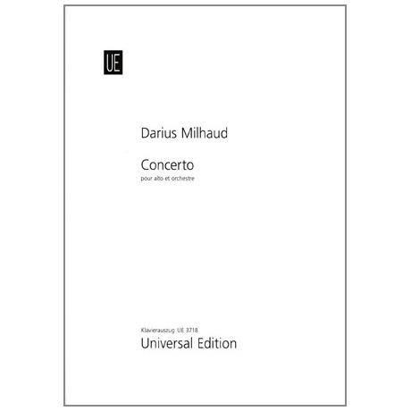 Milhaud, D.: Violakonzert Op. 108
