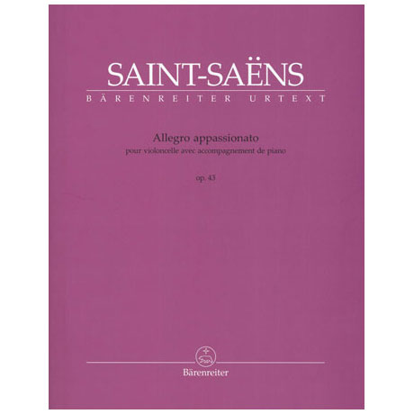Saint-Saëns, C.: Allegro appassionato h-Moll Op. 43