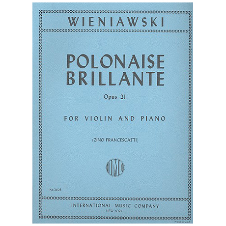 Wieniawski, H.: Polonaise brillante A-Moll Op.21