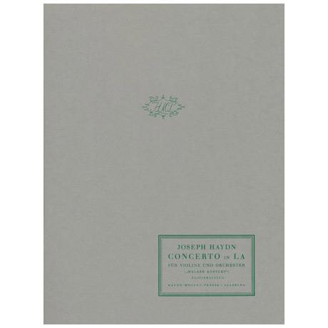 Haydn, J.: Violinkonzert Hob. Vlla: 3 A-Dur »Melker Konzert«