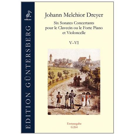 Dreyer, J.M.:  Six Sonates Concertants Vol.3