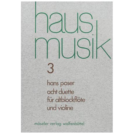 Poser, H.: 8 Duette