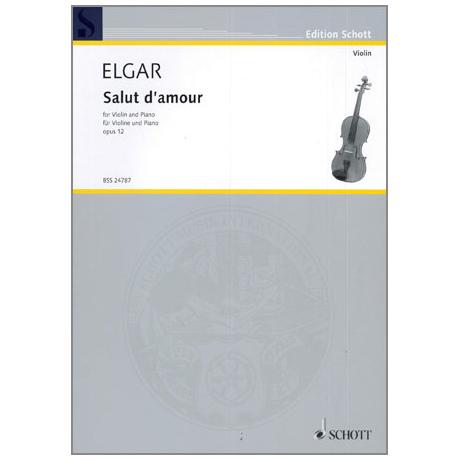 Elgar, E.: Salut d´Amour op. 12 Nr.3