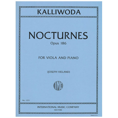 Kalliwoda, J. W.: 6 Nocturnes Op. 186
