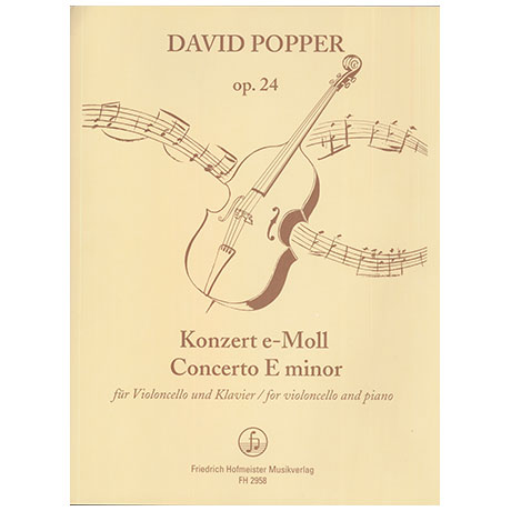 Popper, D.: Konzert Nr. 2 e-Moll Op. 24