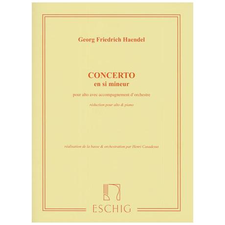 Händel, G.F.: Konzert h-moll Op.6 Nr.12
