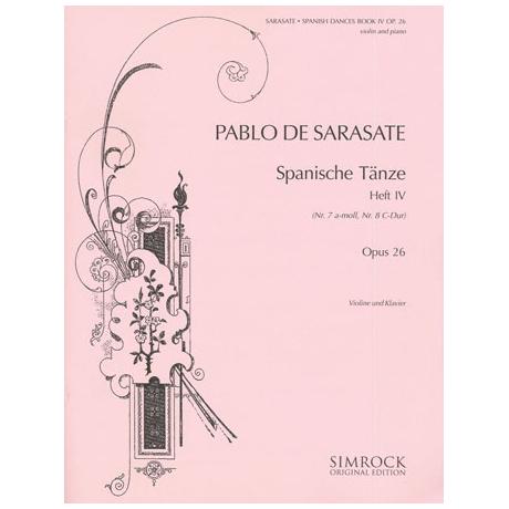 Sarasate, P.: Spanische Tänze Band 4