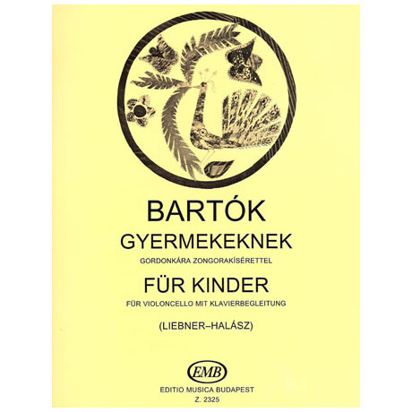 Bartók, B.: Für Kinder – Ausgewählte Stücke