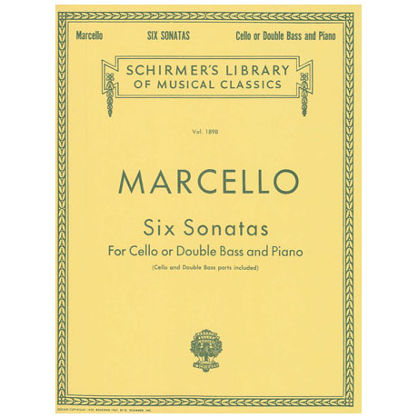 Marcello, B.: Six Sonatas