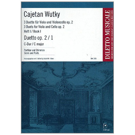 Wutky, C.: 3 Duette Op.2 Band 1 Nr.1 C-Dur