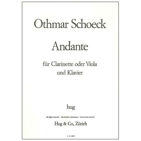Schoeck, O.: Andante