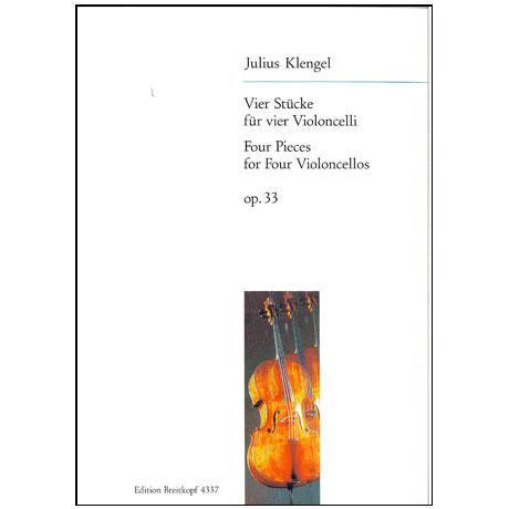 Klengel, J.: Vier Stücke op. 33