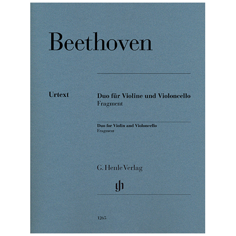 Beethoven, L.v.: Duo (Fragment)