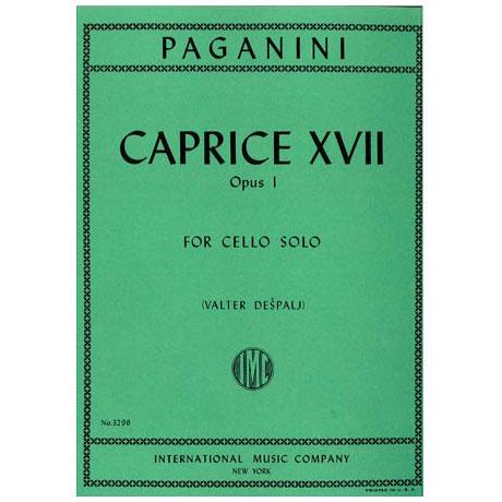 Paganini, N.: Caprice XVII op. 1 (Despalj)