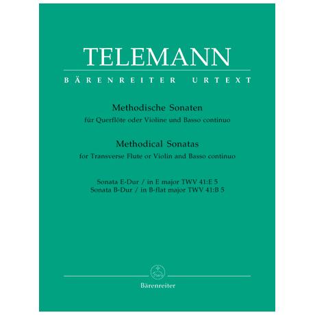 Telemann, G.P.: Methodische Sonaten - Band 5