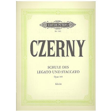 Czerny, C.: Schule des Legato und Staccato Op. 335