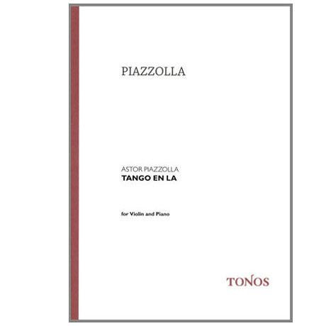 Piazzolla: Tango en La