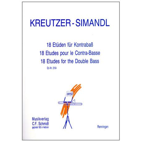 Kreutzer-Simandl.: 18 Etüden