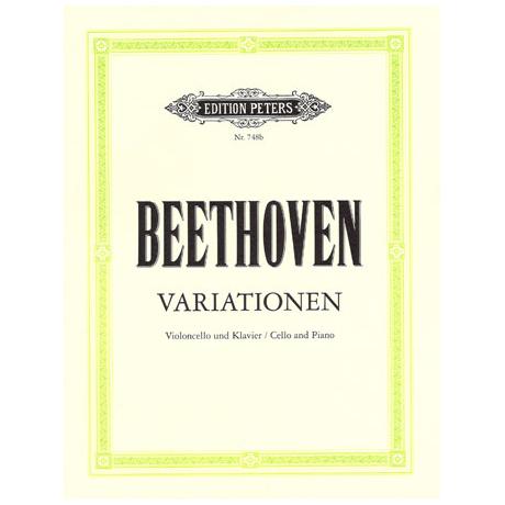 Beethoven, L. v.: Variationen (Judas M.; Ein Mädchen...; Bei Männern...)