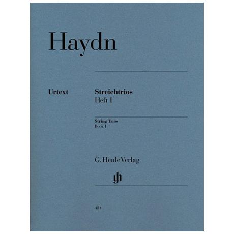 Haydn, J.: Streichtrios Heft 1: Divertimenti Hob. V: 1-4, 6-8, 10-13 Urtext