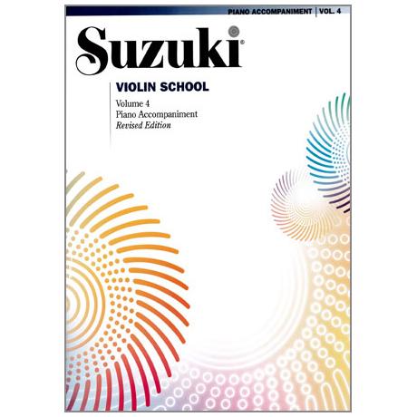 Suzuki Violin School Vol.4 – Piano Accompaniment
