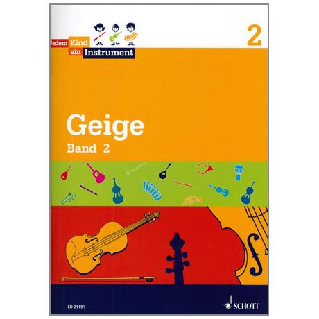Jedem Kind ein Instrument - Geige Band 2