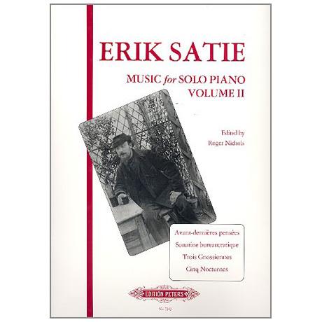 Satie, E.: Musik für Klavier Band II