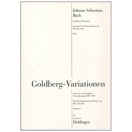 Bach, J. S.: Goldberg - Variationen