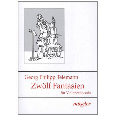 Telemann, G. Ph.: 12 Fantasien TWV 40: 14-25