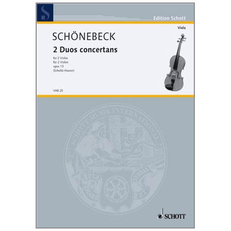 Schönebeck, C. S.: 2 Duos concertans Op. 13