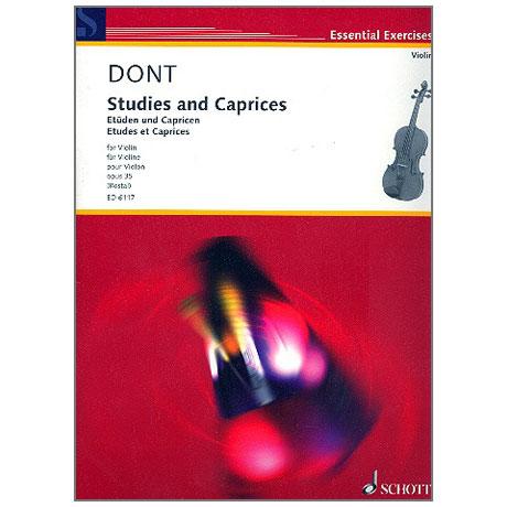 Dont, J.: Etüden und Capricen Op. 35 (Rostal)