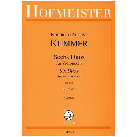 Kummer, F.A.: 6 Duos Op.156 Band 2