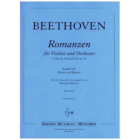 Beethoven, L.v.: Violinromanzen G-Dur op. 40 und F-Dur op. 50