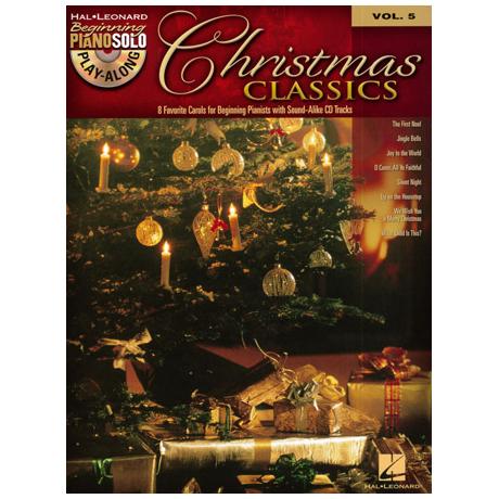 Beginning Piano Solo Play-Along: Christmas Classics (+CD)
