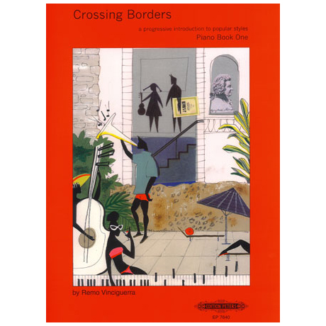 Crossing Borders Heft 6: Jazz-Sonatinen