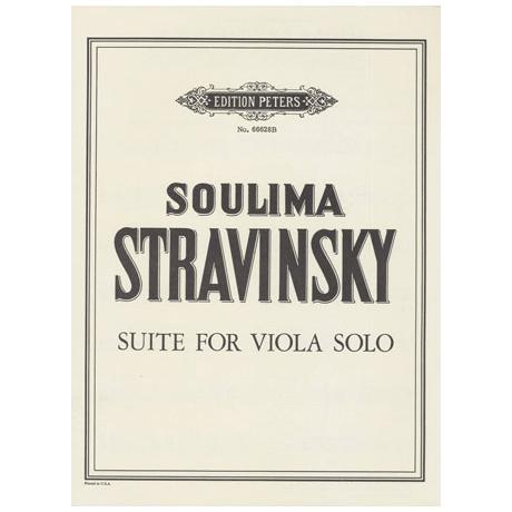 Strawinsky, S.: Suite für die rechte Hand