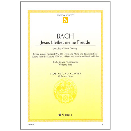 Bach, J.S.: Jesus bleibet meine Freude, BWV 147