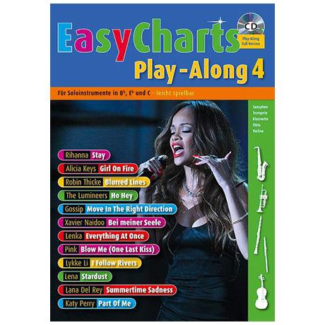 Easy Charts Playalong Band 4 (+CD)