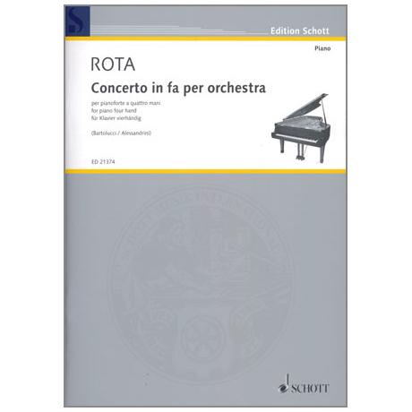 Rota: Concerto in fa per orchestra