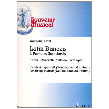 Birtel, W.: Latin Dances – 4 Famous Standards