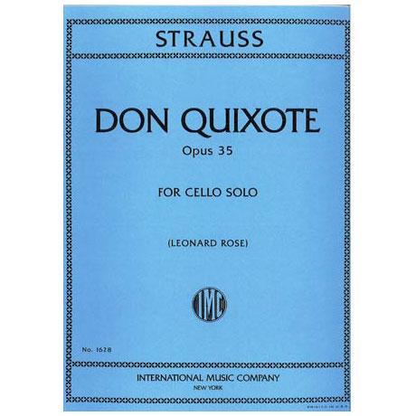 Strauss, R.: Don Quichote op. 35, Solo Cello Part