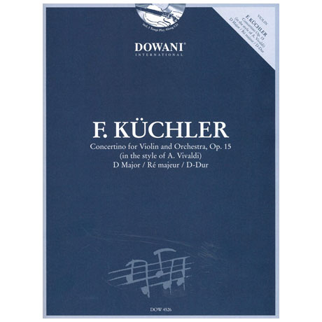Küchler, F.: Concertino op. 15 im Stil von Vivaldi (+CD)