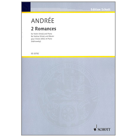 Andrée, E.: 2 Romances