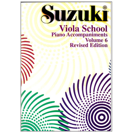 Suzuki Viola School Vol.6 – Piano Accompaniment