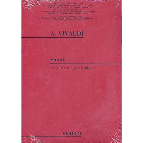 Vivaldi, A.: Sonate B-Dur F.XIV:1