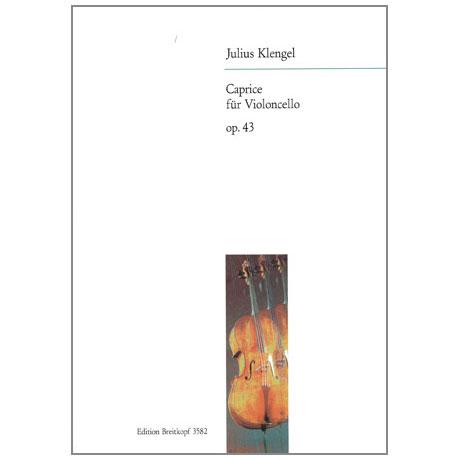 Klengel, J.: Caprice in Form einer Chaconne nach einem Thema von R. Schumann Op. 43