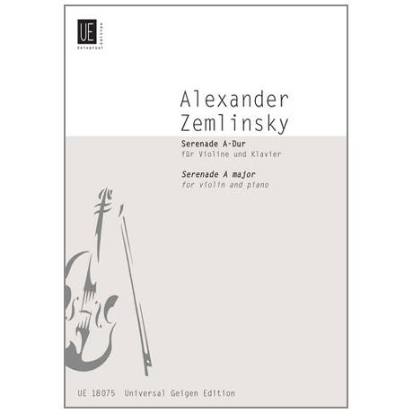 Zemlinsky, A.: Serenade A-Dur aus dem Nachlass