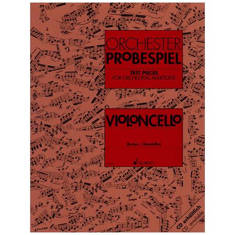 Orchester Probespiel: Violoncello
